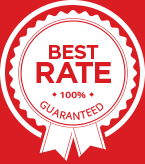 FEXCO Best Rate guarantee seal