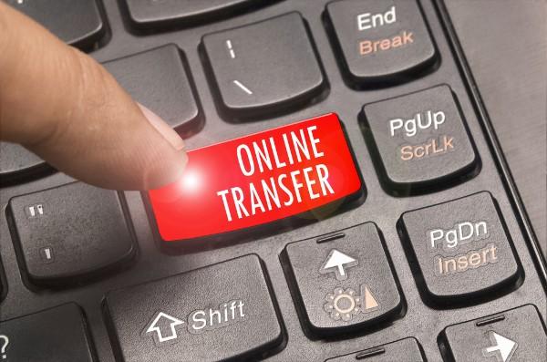online transfer